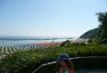 La spiaggia di Gabicce