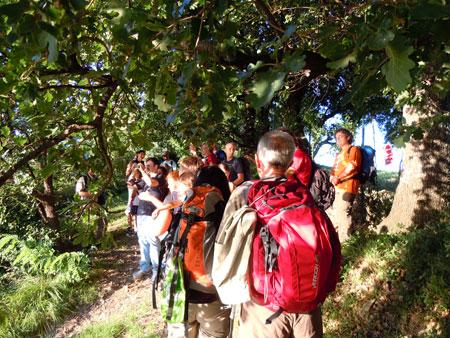 Escursione sul monte San Bartolo